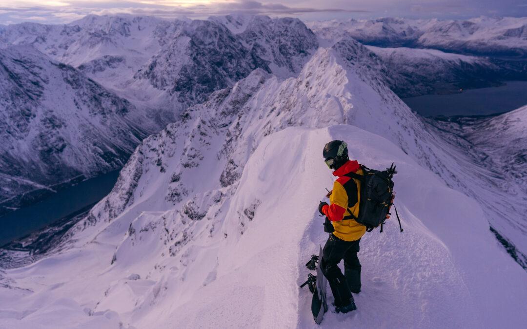 Antti Autti ride les plus belles lignes du cercle polaire.